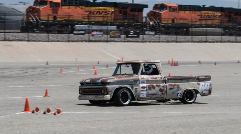 Chase Williams 1964 C10 Truck NMCA West Hothckis Autocross June 2017