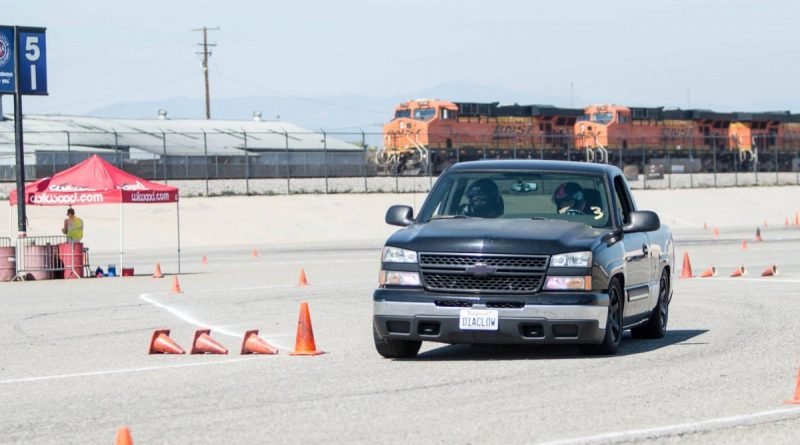 Claudia Robles 2006 Silverado NMCA West Hothckis Autocross June 2017