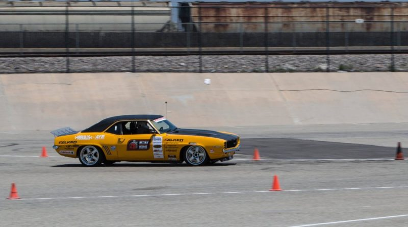 Efrain Diaz 1969 Camaro NMCA West Hothckis Autocross June 2017