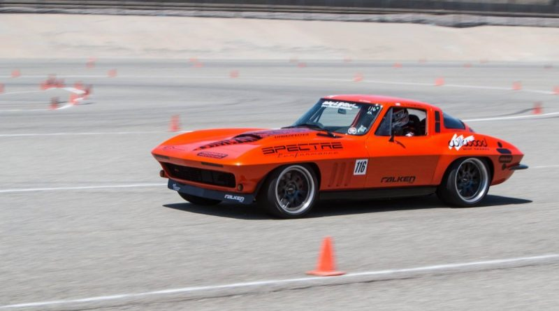Greg Thurmond 1965 Corvette NMCA West Hothckis Autocross June 2017