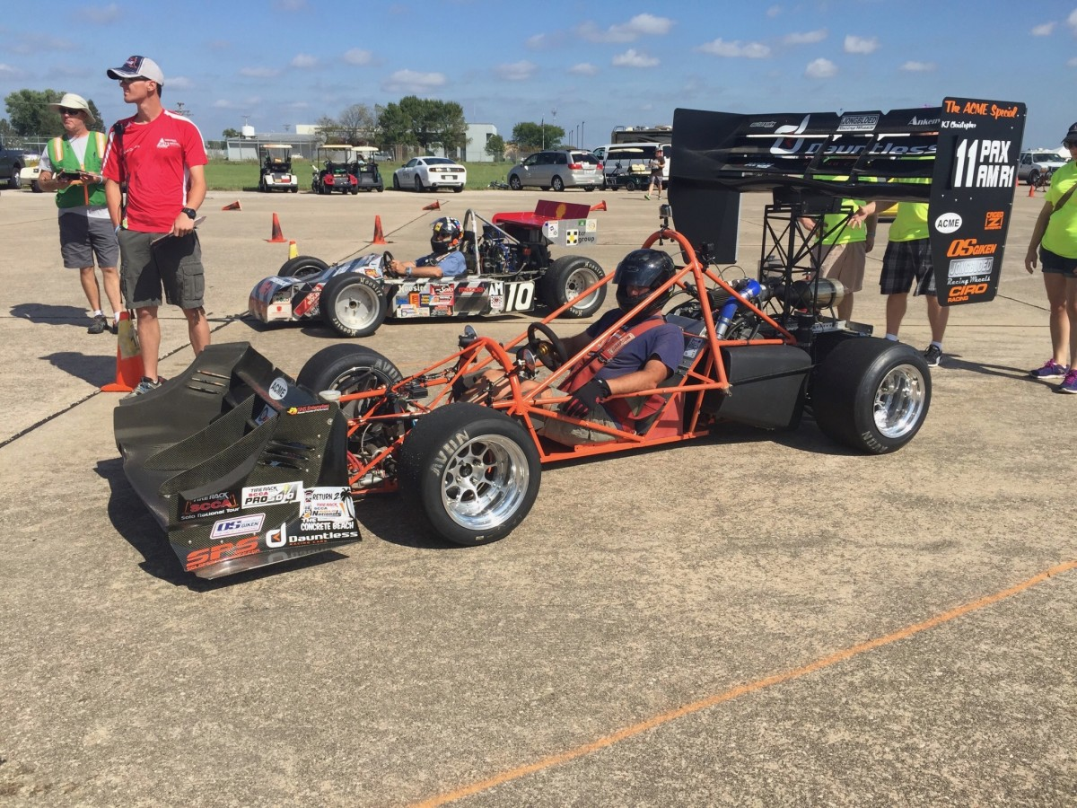 In Grid At Solo Nationals