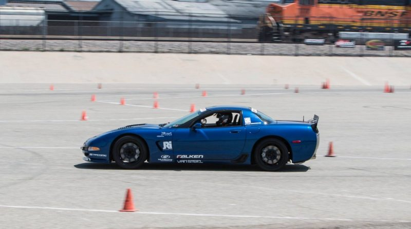 Jake Rozelle 2003 C5 Corvette NMCA-West-Hotchkis-Autocross-June 2017