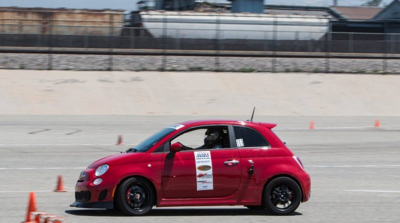 Mark Allison 2013 Fiat Abarth NMCA West Hothckis Autocross June 2017