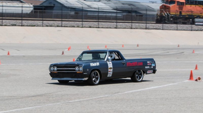 Mike Sullivan 1965 El Camino NMCA West Hothckis Autocross June 2017