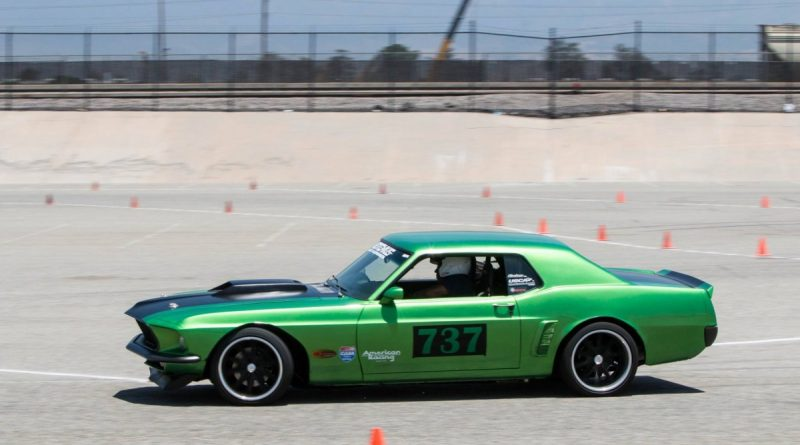 Richard Trujillo 1969 Mustang NMCA West Hothckis Autocross June 2017