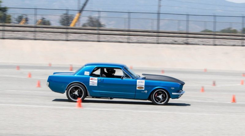 Ron Jones 1966 Mustang NMCA West Hothckis Autocross June 2017