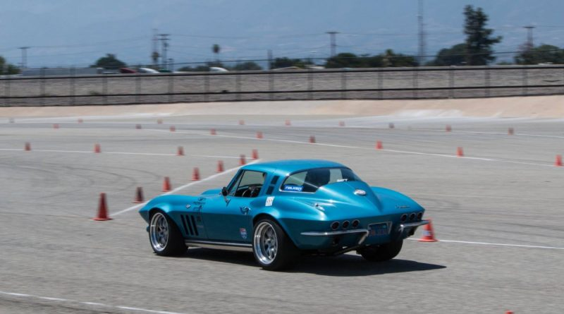 Roy Rozelle 1965 Corvette NMCA West Hothckis Autocross June 2017