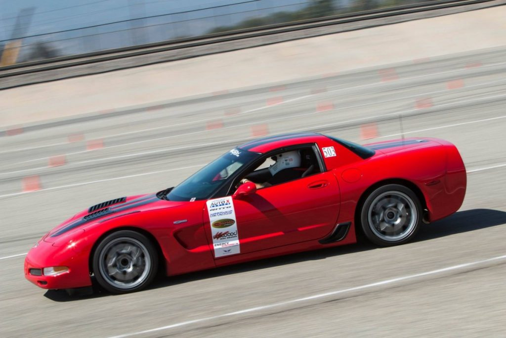 Scot Spiewak 2003 C5 Corvette Z06 NMCA-West-Hotchkis-Autocross-June 2017