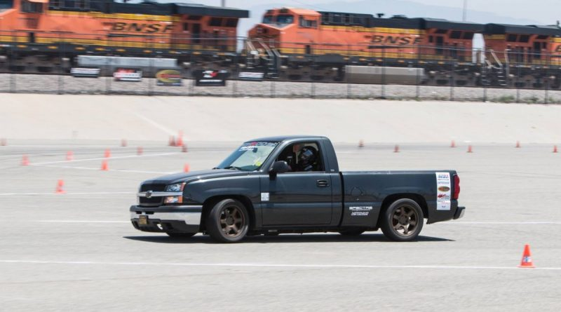 Stephen Komlos 2004 Silverado NMCA-West-Hotchkis-Autocross-June 2017 2