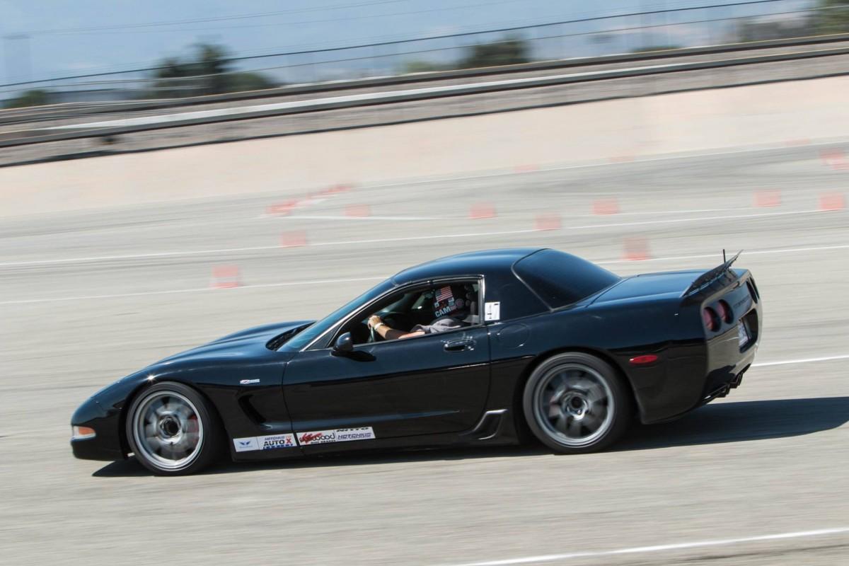 Tom Kamman C5 Corvette Z06 NMCA West Hotchkis Autocross 2 ...
