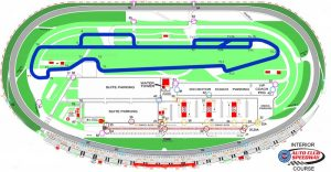 Auto club speedway ACS infield track map
