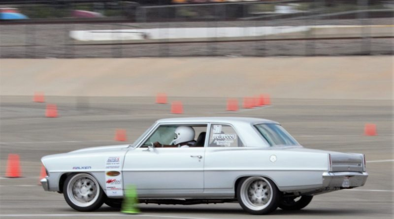Andy the Nova Guy 1967 Nova NMCA West Hotchkis Autocross September 2017