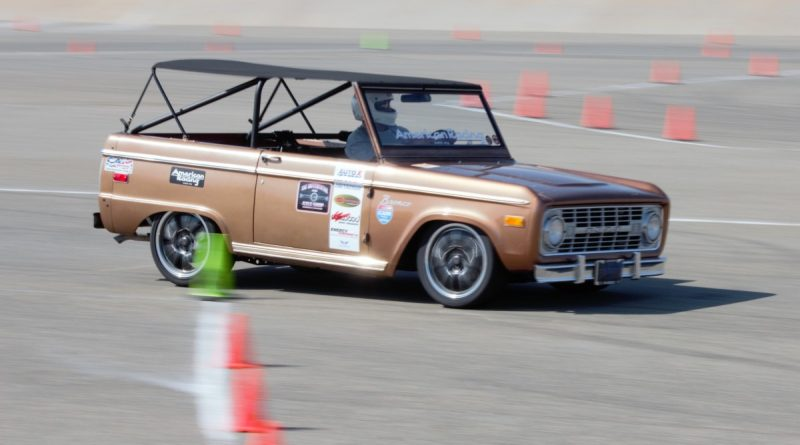 Bill Kinsman 1972 autocross bronco NMCA West Hotchkis Autocross September 2017 2