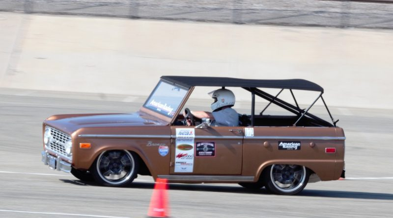 Bill Kinsman 1972 autocross bronco NMCA West Hotchkis Autocross September 2017