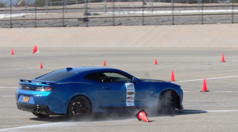 Blue Camaro NMCA West Hotchkis Autocross September 2017 4