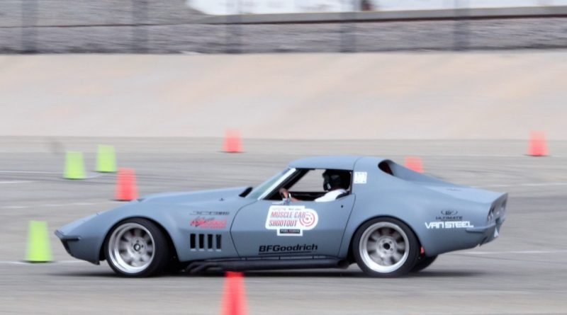 Casey Cronin 1972 Corvette NMCA West Hotchkis Autocross September 2017 2