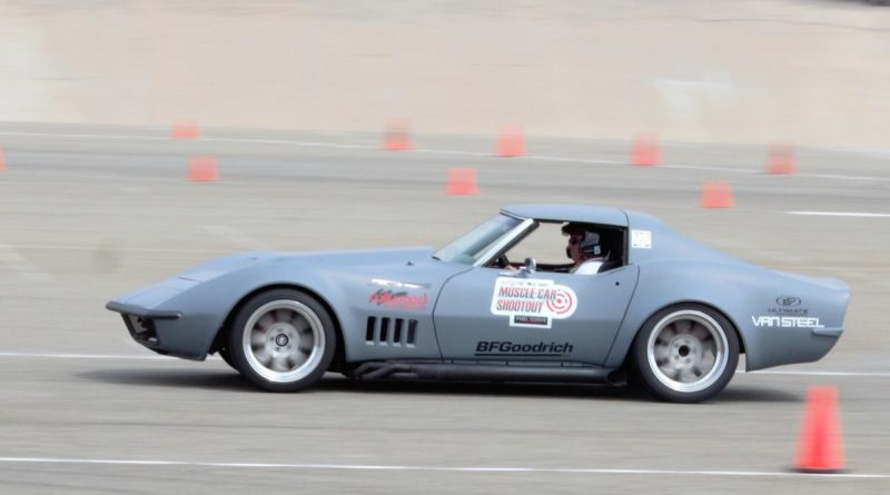 Casey Cronin 1972 Corvette NMCA West Hotchkis Autocross September 2017