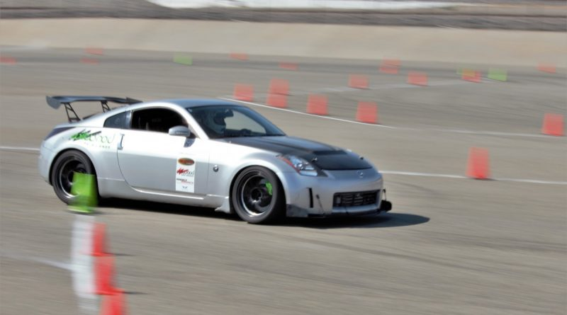 Ceasar Martinez 2005 350z NMCA West Hotchkis Autocross September 2017