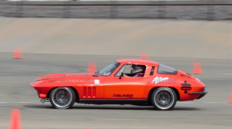 Greg Thurmond 65 Corvette SCAR NMCA West Hotchkis Autocross September 2017 2