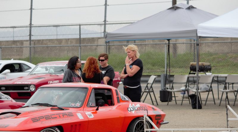 Jane Thurmond and friends family Corvette NMCA West Hotchkis Autocross September 2017