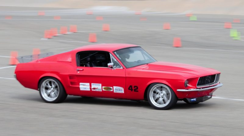 Jason Anthony 1967 Mustang NMCA West Hotchkis Autocross September 2017