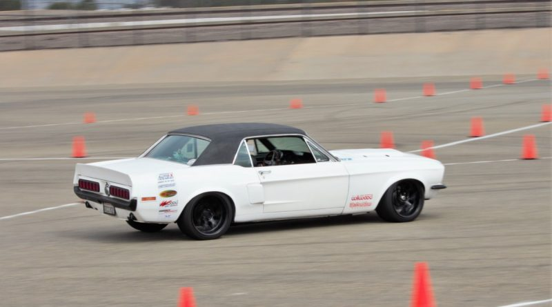 Joe Parks 1968 Mustang NMCA West Hotchkis Autocross September 2017