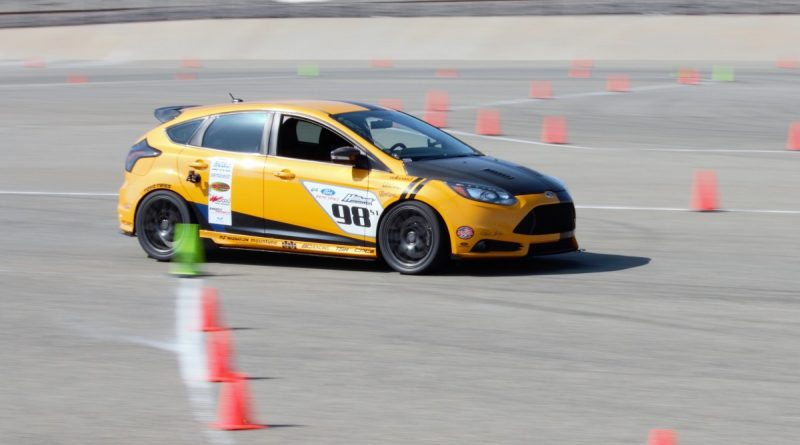 Max Sigwart 2013 Ford Focus ST NMCA West Hotchkis Autocross September 2017