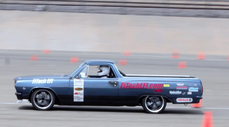 Mike Sullivan 1965 El Camino NMCA West Hotchkis Autocross September 2017
