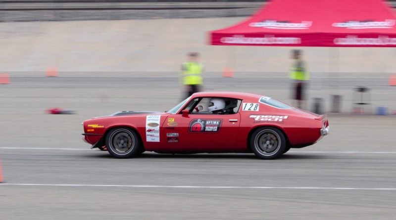 Nick Relampagos 1970 Camaro NMCA West Hotchkis Autocross September 2017