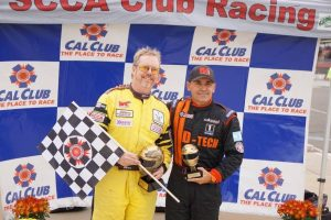 Oli Thordarson Corvette Racing on the podium autoxandtrack featured driver