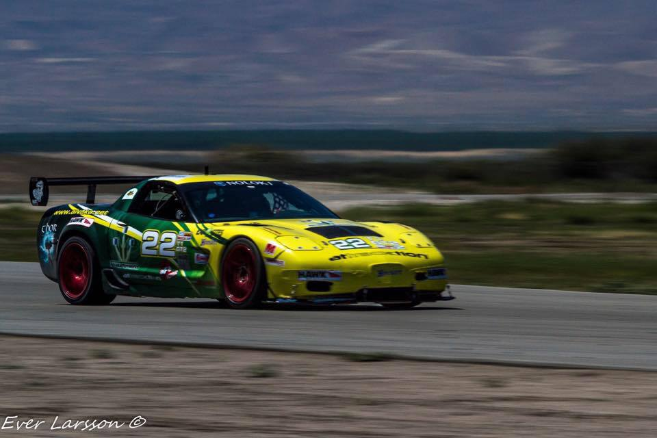 Oli Thordarson ThorVette Corvette racing autoxandtrack featured driver