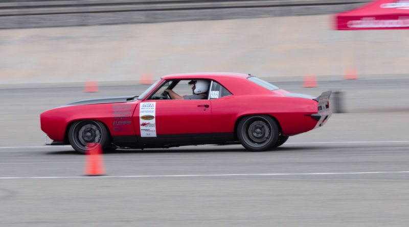 Robb McIntosh 1969 Camaro NMCA West Hotchkis Autocross September 2017