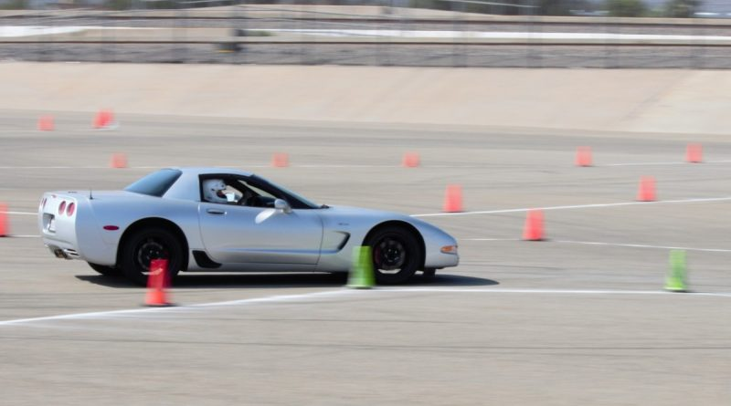 Roy and Mallory Rozelle C5 Corvette NMCA West Hotchkis Autocross September 2017
