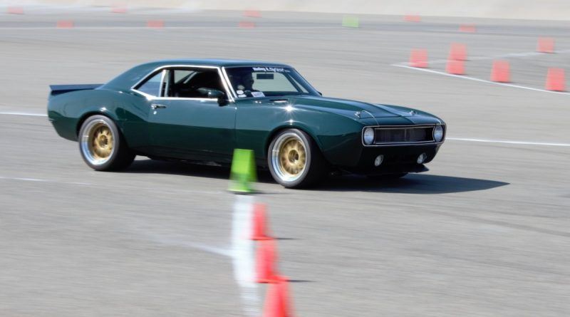 Wally Logan 1968 Camaro Barrys speed shop NMCA West Hotchkis Autocross September 2017