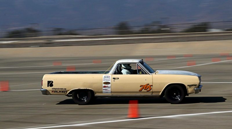 Arlo Oner 1965 El Camino Saturday NMCA Hotchkis Autocross season finale October 2017