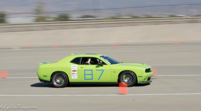 Bill Shumate 2015 Dodge Challenger Saturday NMCA Hotchkis Autocross season finale October 2017
