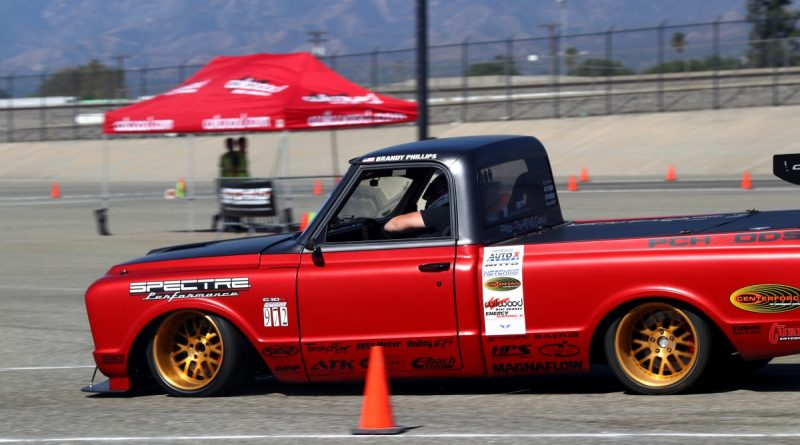 Brandy Phillips PCHRods C10R NMCA Hotchkis Autocross October 2017