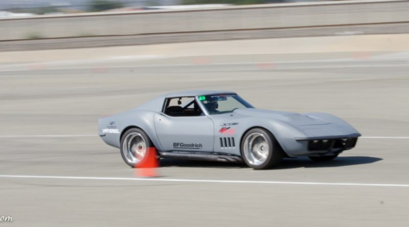 Casey Cronin 1972 Corvette Saturday NMCA Hotchkis Autocross season finale October 2017