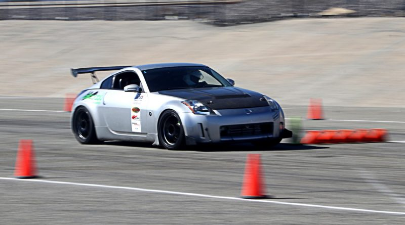 Ceasar Martinez 350Z NMCA Hotchkis Autocross October 2017