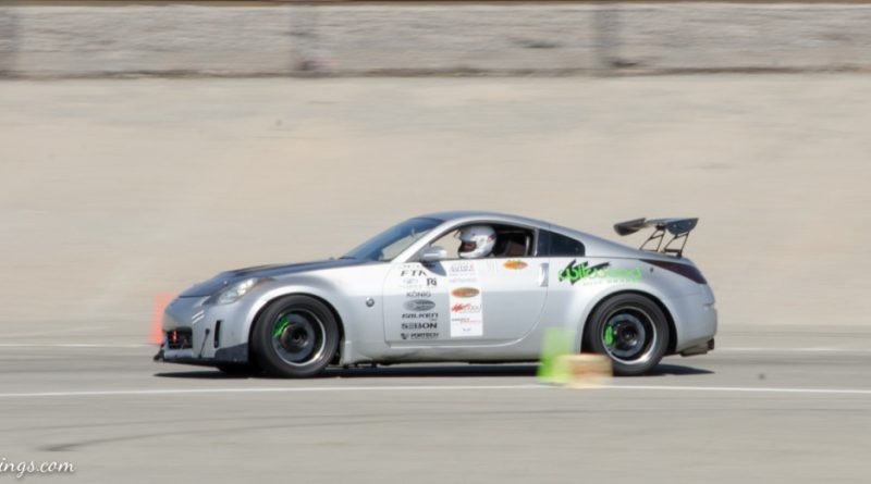 Ceasar Martinez's Nissan 350Z Saturday NMCA Hotchkis Autocross season finale October 2017
