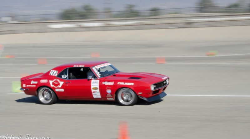 Chad Ryker 1968 Camaro Saturday NMCA Hotchkis Autocross season finale October 2017