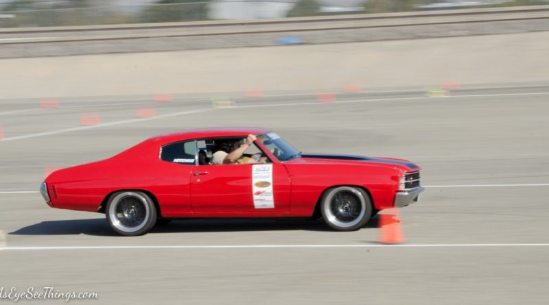 Chevelle Saturday NMCA Hotchkis Autocross season finale October 2017