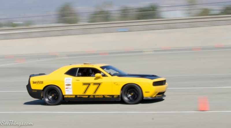 Chris Stoner 2015 Dodge Charger Saturday NMCA Hotchkis Autocross season finale October 2017