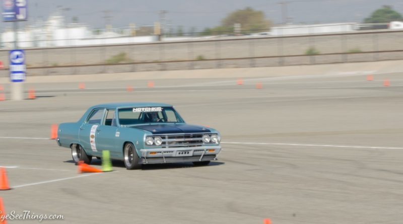 Dick Eytchison 65 Chevelle NMCA Hotchkis Autocross season finale October 2017