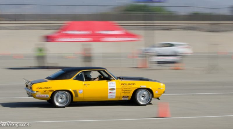 Efrain Diaz 1969 Camaro Saturday NMCA Hotchkis Autocross season finale October 2017 2