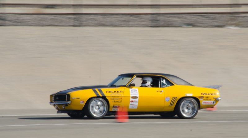 Efrain Diaz 1969 Camaro Saturday NMCA Hotchkis Autocross season finale October 2017