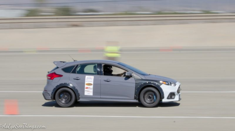 Eric Sheely 2016 Focus RS Saturday NMCA Hotchkis Autocross season finale October 2017