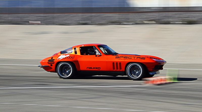 Greg Thurmond 1965 Corvette NMCA Hotchkis Autocross season finale October 2017