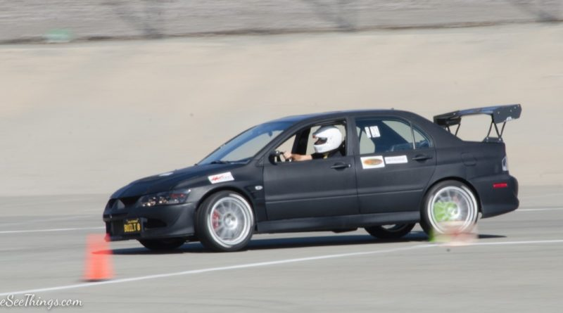 Hakoub Bedo 2003 Evo Saturday NMCA Hotchkis Autocross season finale October 2017