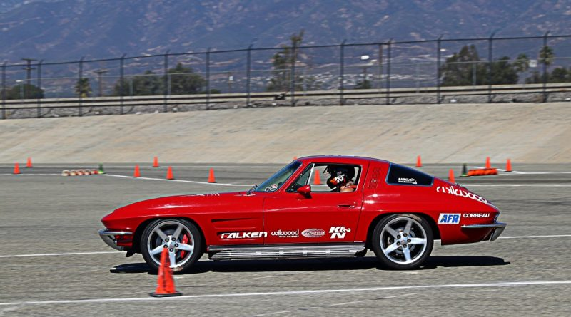 Jane Thurmond 1964 Corvette NMCA Hotchkis Autocross October 2017